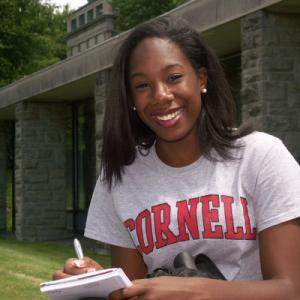 A Cornell student